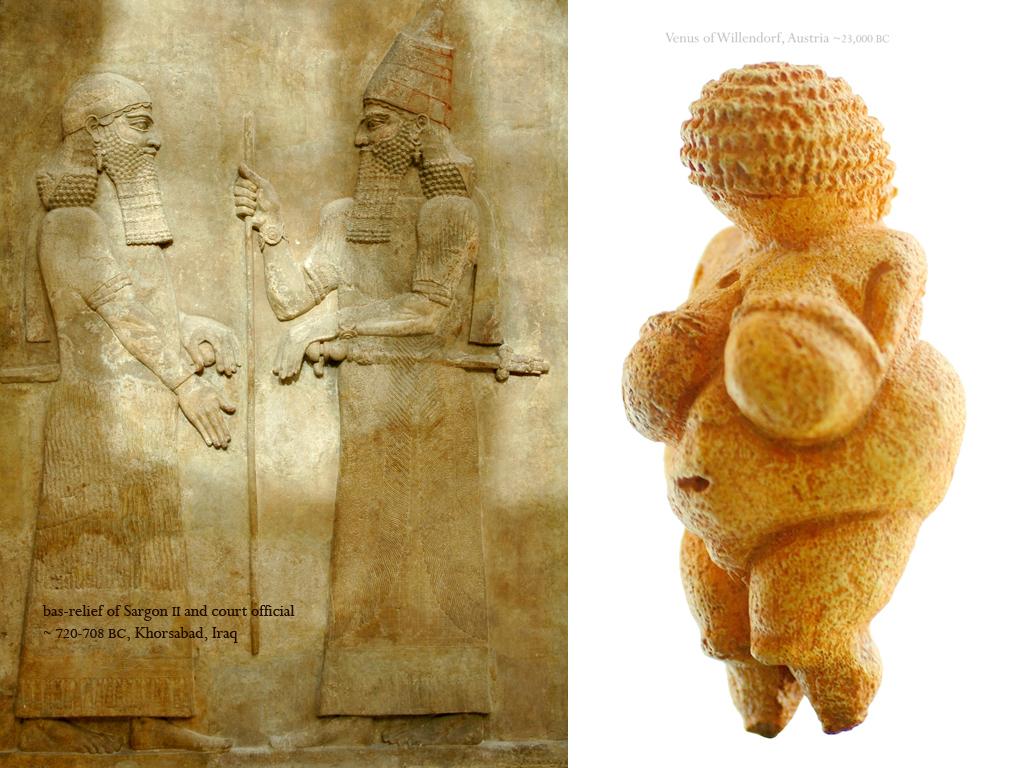 a comparison of venus of willendorf and cycladic figures Answer to a common trope in prehistoric art is the earth mother figure although  this  investigate the use of shape in the venus of willendorf (fig 13) and the  cycladic female figure (fig 15) what types of  how do the objects respectively  compare to the modern piece black venus by niki de saint phalle finally, why,  in.